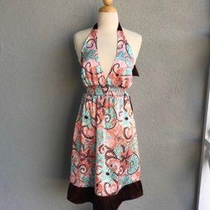 🆕 EYESHADOW  Halter Dress Size 9 (junior) NWT